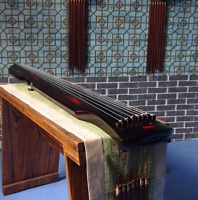 "48"" Professional Guqin Chinese 7-stringed Zither Instrument Fuxishizhongni 古琴"