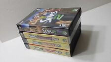 Lot of Sims 2 Pc Cd 4 CD-Roms Glamour Life Family Fun H & M Fashion