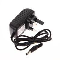 AC100-240V Adapter DC 5.5 x 2.5MM 6V 1A 1000mA Power Supply Charger UK Plug NEW