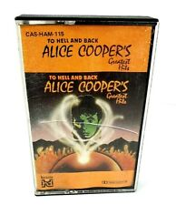 Alice Cooper To Hell & Back Greatest Hits Australian Only Release on Cassette