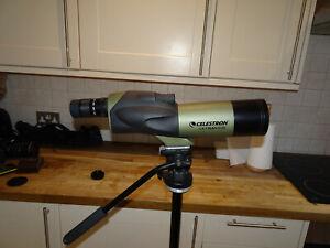 CELESTRON ULTIMA 65 STRAIGHT SPOTTING SCOPE 18-55mm MAGINFICATION X 65mm + CASE