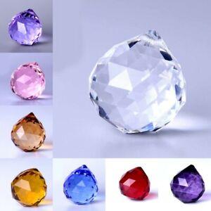 Suncatcher Hanging Crystal Decor Rainbow Prism Windchime Chandelier Drop Pendant