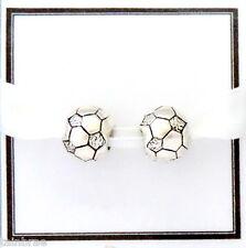 2x Football Beads for European Charm Bracelets