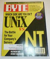 Byte Magazine Unix Vs Nt May 1996 111314R1