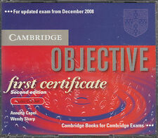 Cambridge OBJECTIVE First Certificate FCE 2nd Edition AUDIO CD Set @NEW@