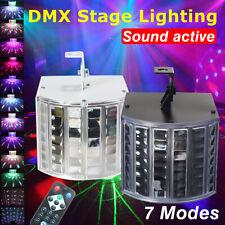 18W DJ Lights Sound Music Activated RGB LED Strobe Effect Stage Light DMX512 US
