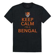 Buffalo State College Bengal NCAA College Cotton Keep Calm Tee T-Shirt S - 2XL