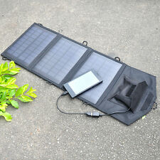 Portable 10.5W5V2A UBB Output Power Charger Foldable Solar Panel Battery Pack
