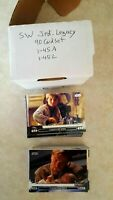 2013 Topps Star Wars Jedi Legacy Trading Cards 90 Complete Set #1A-45A, 1L-45L