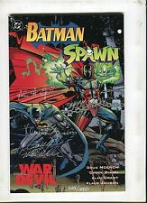 BATMAN SPAWN WAR DEVIL (9.2 OB) SIGNED AND NUMBERED TO 2500 MOENCH GRANT DIXON