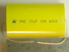 2 Illinois 15UF 10% 400V Metalized Polyprop. Capacitor