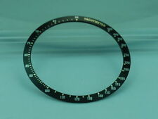 Seiko Compatible Replacement BEZEL INSERT FOR 6138 0030, 6138-0040 BULLHEAD
