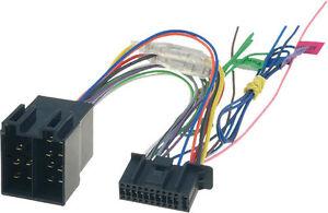 Kenwood car radio stereo audio Dmx-7017dabs Wiring Harness Loom Connector Iso