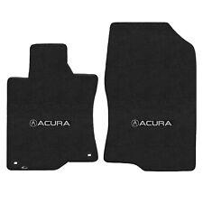 FOR ACURA TSX 2009-2014 Front Floor Mats EBONY ACURA W/ A LOGO 620183