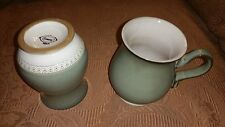 Exquisite Set of 2 Single- Footed Mugs 10 oz. Capacity