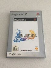 Final Fantasy X Sony PlayStation 2 Console Game PAL PS2