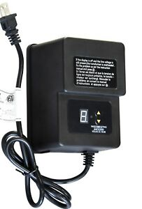 KHAN TECH Low-Voltage Landscape Lighting Transformer 120w, 12VAC -Timer & Sensor