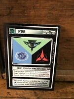 1998 Star Trek DEEP SPACE TCG CCG Lot: Events : TREATY Federation/Klingon