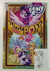 My Little Pony FCBD 2020 Signed + Art Trish Forstner Friendship is Magic MLP IDW