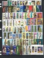 Pitcairn Islands 100 All Different Stamps in Glassine Bag Mostly Mint