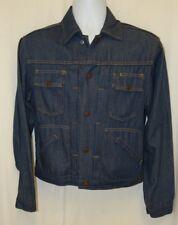 Vintage small men's J.C. Penny Ranch Craft denim blue jean jacket