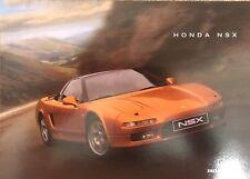 Honda NSX Sales Brochure January 1998