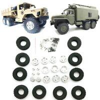 8pcs WPL Metal Wheel OP Tire Counterweight For RC Car 1//16 B16 B36 Truck Parts