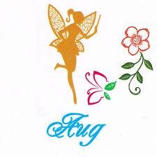 Magique Fleur Fée Faerie avec Baguette août clair s'accrocher Stamp Set