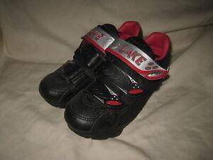 Lake CX 120 Black/Red MTB Cycling Shoes Euro Size 36 US Women's 5.5