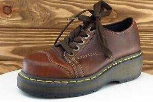 Dr. Martens Size 6 M Brown Platform Shoes Leather Women