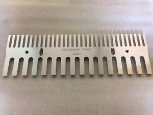 Router Aluminum Through Box Joint / finger joint 1/2 - 1/4 Jig Template 6061 USA