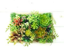 JAPAN ARTIFICIAL FLOWERS HANGING WALL/SUCCULENTS/PLANT/HOME Decor/WEDDING/fake