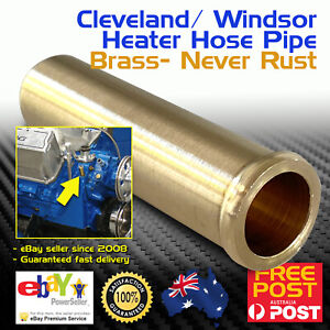 Ford Water Pump Heater Hose Pipe Tube Brass Cleveland Windsor V8 289 302 351