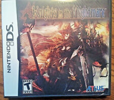 Knights in the Nightmare  (Nintendo DS, 2009) NEW