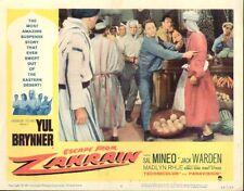 Escape From Zahrain 11x14 Lobby Card #1