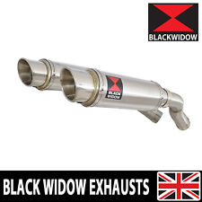 Yamaha YZF-R1 R1 5VY 04 05 06 Exhaust Silencer Kit Stainless Steel Oval 230SR