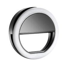 Neewer 36 Led Clip-on Selfie Cellphone Ring Light f Night Fill-in Lighting (Bl)