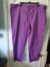 Tafford Light Purple Essentials Unisex Size Xl Drawstring Scrub Uniform Pants