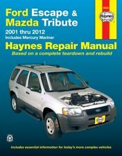 NEW HAYNES WORKSHOP SERVICE REPAIR MANUAL BOOK: FORD ESCAPE & MAZDA TRIBUTE