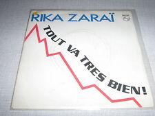 RIKA ZARAI 45 TOURS FRANCE TOUT VA TRES BIEN