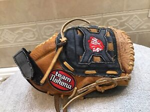 "Nokona TN-1000 10"" Youth Baseball T-Ball Softball Glove Right Hand Throw"