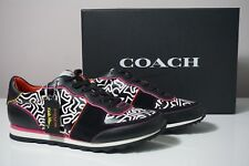 Coach X Limited Edition Keith Haring Leather Sneaker FG1003 Size 9