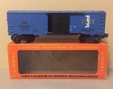 Lionel Trains O Scale Model Train 027 6464-475 Boston & Maine Boxcar Type IV