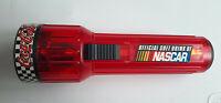 Coca-Cola NASCAR Red Flashlight w/ hanging hook