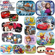 2 x Disney Car 44x35cm UV Sun Shade Baby Children Kids Window Visor CARS  FROZEN f2792efca00