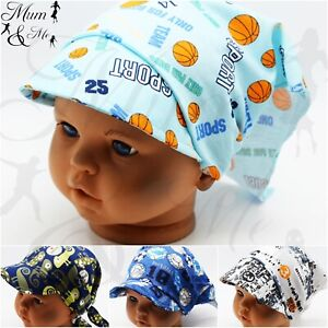Kids Boys Toddler - Hat Printed Sun Protection Adjustable Headband Bandana Hat