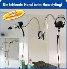 Fönhalter mit Saugnapf und Teleskoparm Fönhalterung Haartrocknerhalter