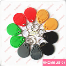 1Pcs 125Khz Em4100/4102 Rfid Proximity Id Card Token Tags Key Fobs For sample