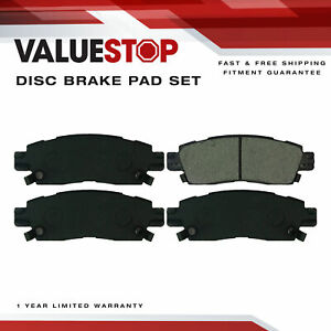 Rear Ceramic Brake Pads for Buick Enclave; Chevrolet Traverse; GMC Acadia