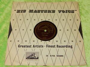 PERY COMO : Juke box baby / The things I didn't do - Orig 1956 UK HMV 78rpm 219